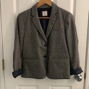 Gap navy tweed blazer